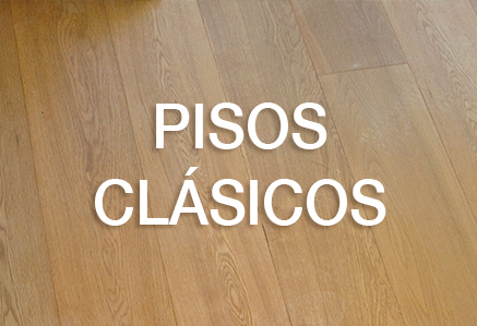 Pisos de Madera Clasicos
